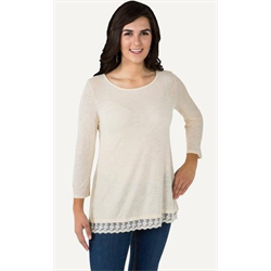 Noble Outfitter Women's Sierra Cream Top