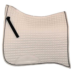 ENG/PAD/WB/651082/WH/BLK ROMA SWALLO TAIL DRESSAGE