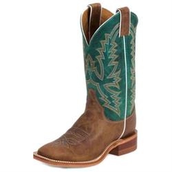 Justin Ladies Kennedy Tan Bent Rail Cowboy Boots