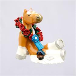 GIFT/HORSE SCULPTURES/HORSE PLAY/SHOW HORSE