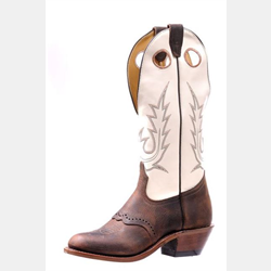 Boulet Ladies Challenger with Tan Shaft Cowboy Boots