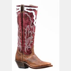 Boulet Ladies Magenta Cowboy Boots