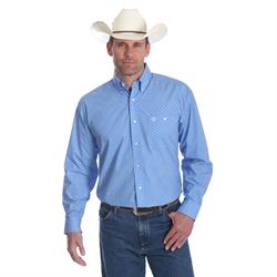 George Strait Long Sleeve Shirt Blue Grass