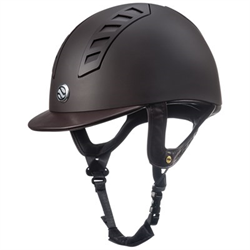 HELMET/BACKONTRACK/491007-56/EQ3 SMOOTH BROWN SZ 6 7/8