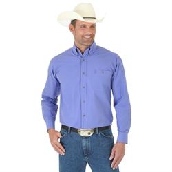 Wrangler George Strait Purple Long Sleeve Shirt