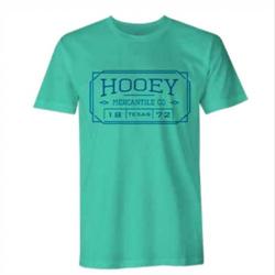 Hooey Men's Mercantile Turquoise T Shirt