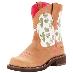 Ariat Women's Fatbaby Heritage Cactus Print Boots