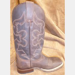 Roper Men's Brown UFA Cowboy Boots