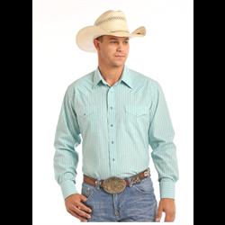 Panhandle Slim Dobby Strip Western Shirt