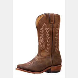 Boulet Ladies Challenger Brown Cowboy Boots