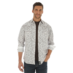 Rock 47 White and Brown Shirt