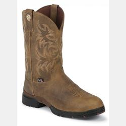 Justin Unwound Tan Gaucho George Strait Cowboy Boot