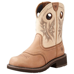 Ariat Women's Fatbaby Heritage Tan Boots