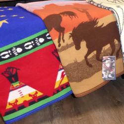 Pendlton Baby Blankets