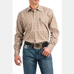 Cinch Men's Paisley Print Western Snap Shirt
