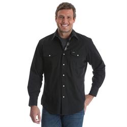 Authentic Cowboy Cut® Work Shirt - Flannel Lined Black