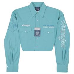 Wrangler® Logo Long Sleeve Shirt Green