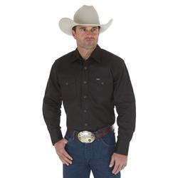 Wrangler Authentic Cowboy Cut Western Denim Shirt