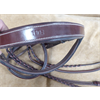 ENG/BRIDLE/NOBLE/BE/1512-EM-WB/RAISED BRIDLE PADDED NOSE REINS MAHOGANY WARMBLOD