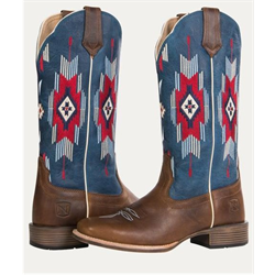 Noble Outfitters Women's All Around Sante Fe Rustic Brown Boots