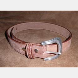 Vintage Bison Men's Birch Cognac Belt