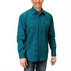 Roper Men's Paisley Snap Down Shirt