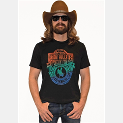 Rock & Roll Men's Dale Brisby Short Sleeve Graphic T Shirt