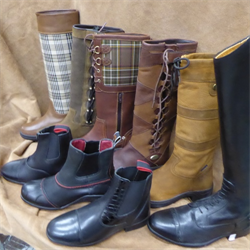 English Riding Boots