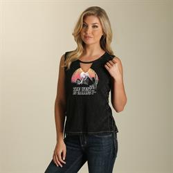 Wrangler® Sleeveless Sunset Western T-Shirt