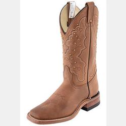 Canada West Ladies Brahma Roper Encino Roble Boots