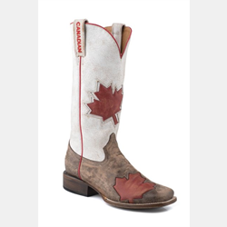 Roper Ladies Canadian Flag Cowboy Boot