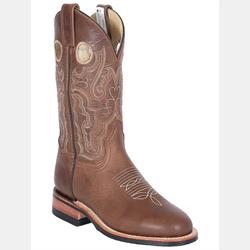 Canada West Alamo Tan Cowboy Boots