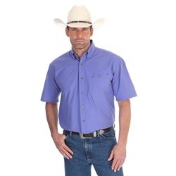 Wrangler George Strait Purple Short Sleeve Shirt
