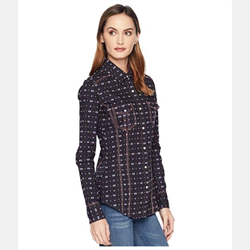 Rock N Roll Cowgirl Long Sleeve Snap Western Shirt
