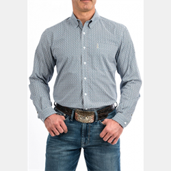 Cinch Men's Multi Coloured and Blue Western Shirt