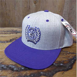 Cinch Purple Snap Back Cap  16cbc5b33d0