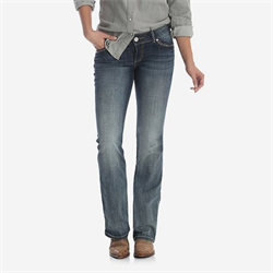Wrangler Retro Sadie Dark Wash Low Rise Jean