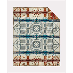 GIFT/PENDLETON/BLANKET/ZE493-53220/PWM JACQUARD BIRCH PATH UNNAPPED ROBE