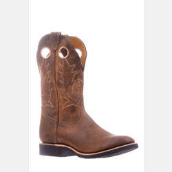Boulet Full Round Toe Cowboy Boots