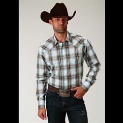 Roper Men's Sage Creek Plaid Shirt
