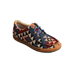 Twisted X Ladies Hooey Casual Shoe Graphic Pattern