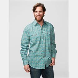 Stetson Men's Classic Vintage Scroll Snap Front Shirt