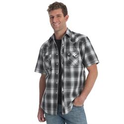 Wrangler Retro Men's Short Sleeve Plaid Shirt