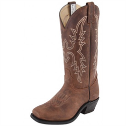 Canada West Ladies Alamo Tan Western Boots