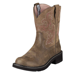 Ariat Ladies' Fatbaby II Brown Bomber Boots