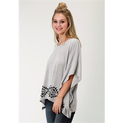 Roper Women's Poncho Knit Summer Sweater