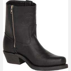 Canada West Men's Zipper Black Loggertan Boots
