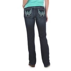 Wrangler Ladies The Ultimate Riding Jean Shiloh Glendale