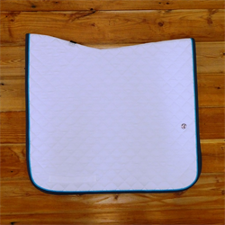 ENG/PAD/OGILVY/BABY PAD/DRESSAGE/01-02-0-17/WHITE-TURQ-NONE-CHARCOAL