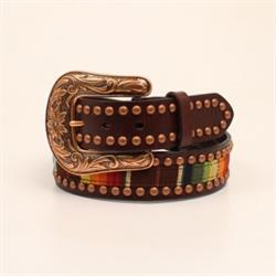 Ariat Ladies Serape Belt with Copper Studs